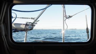 Premier contact avec la côte Suédoise